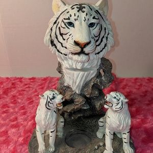 Other - Tiger candle holder